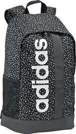 Adidas Linear Graphic Backpack ED0299 Black/White