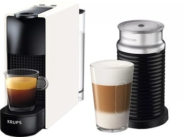 Krups Nespresso Essenza Mini & Aeroccino3 XN1111 Black/White