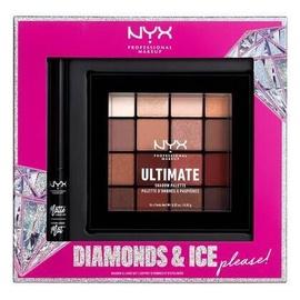 Комплект NYX Diamonds & Ice, Please Black, 2 мл