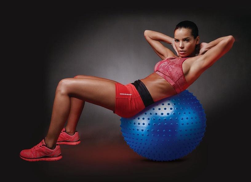 Body Sculpture Massage Gym Ball 56cm Blue