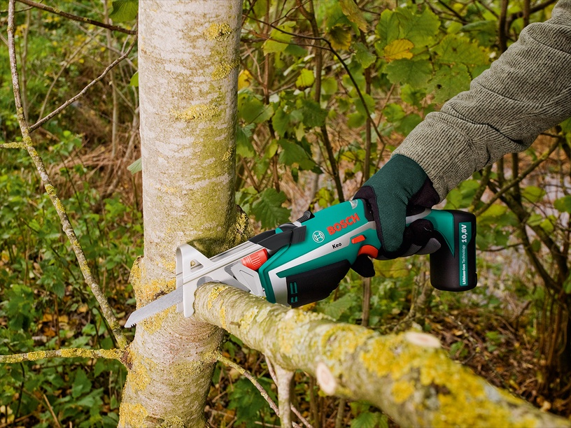 Dzīvžogu šķēres Bosch Keo Cordless Reciprocating Saw