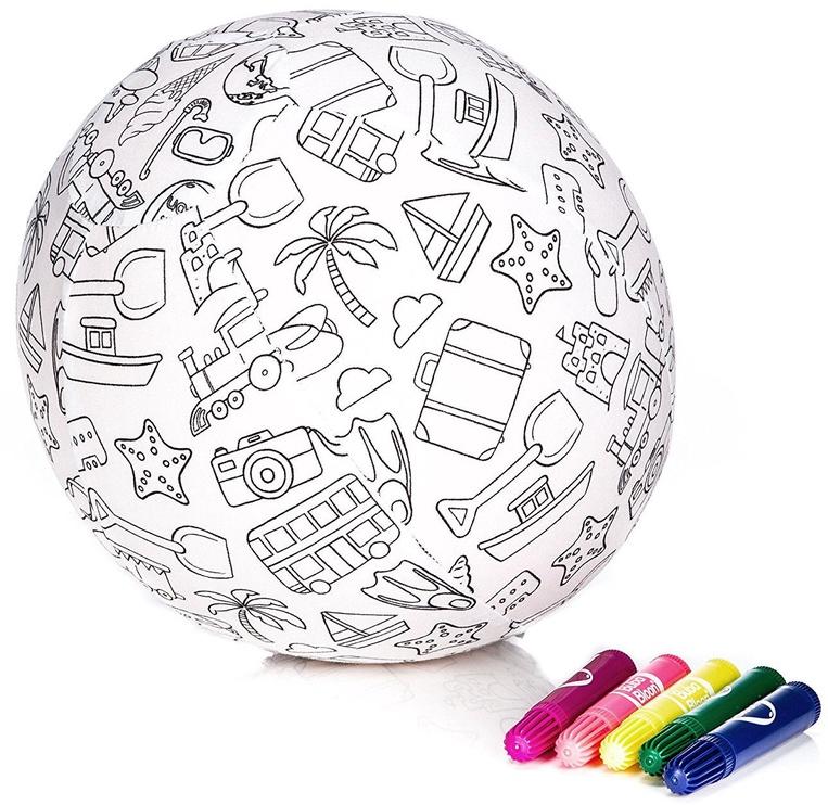 BubaBloon Balloon Ball Colour Your Own Travel Design