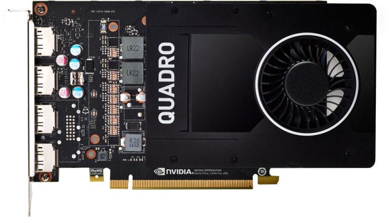 Vaizdo plokštė PNY Quadro P2200 VCQP2200-PB 5 GB GDDR5