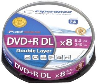 Esperanza DVD+R DL 8.5GB 8x 10pcs