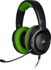 Игровые наушники Corsair HS35 Black/Green