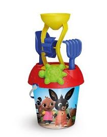 Smilšu kastes rotaļlietu komplekts Mill Bing, daudzkrāsains, 5 gab.