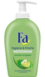 Šķidrās ziepes Fa Hygiene & Freshness Lime & Ginger, 250 ml