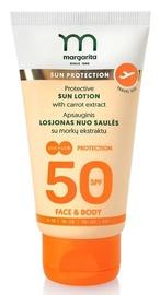 Losjons saules aizsardzībai Margarita Carrot Extract SPF50, 50 ml