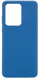 Evelatus Soft Touch Back Case For Samsung Galaxy S20 Ultra Blue