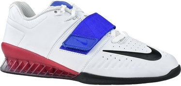 Nike Romaleos 3XD Shoes AO7987 104 White/Blue 45.5