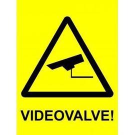 Ohutusmärk videovalve