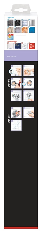 Держатель для полотенец Tesa 40303-00000-00, 456 мм x 50 мм x 83 мм, Металл