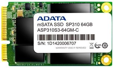 Adata SSD Premier Pro SP310 64GB mSATA ASP310S3-64GM-C