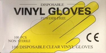 Arkolat Poweder Free Disposable Vinyl Gloves S 100pcs