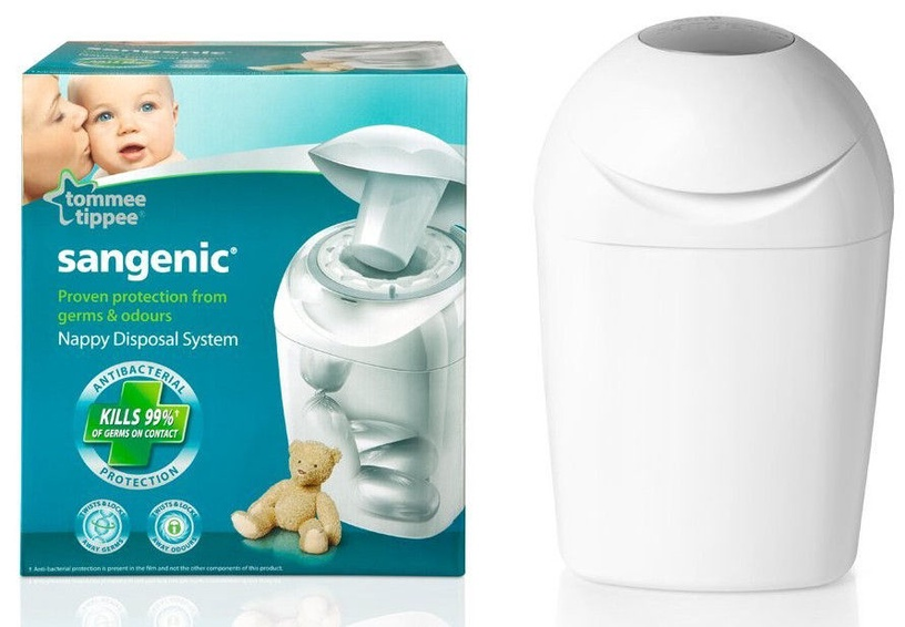 Tommee Tippee Nappy Disposal System White