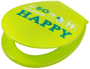 Karo-Plast Toilet Seat UNI Happy Lemon