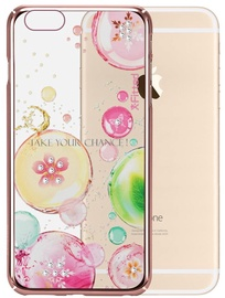 X-Fitted Fancy Bubble Swarovski Crystals Back Case For Apple iPhone 6/6s Rose Gold