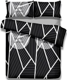Gultas veļas komplekts AmeliaHome Averi, daudzkrāsains, 200x200/80x80 cm