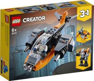 KONSTRUKT.LEGO CREATOR CYBER DRONE 31111