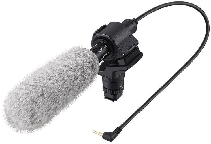 Микрофон Sony ECM-CG60, черный
