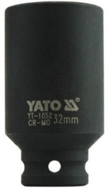 "Yato Deep Impact Socket CrMo 1/2"" 32mm"