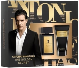 Antonio Banderas The Golden Secret 50ml EDT + 50ml Aftershave Balm