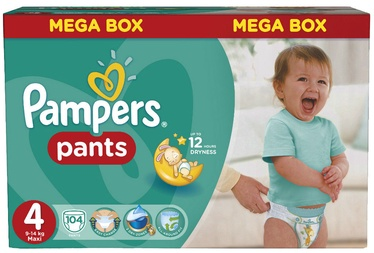 Pampers Pants S4 104