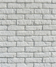 Flīzes sienai Retr Brick, baltas 24 gab.