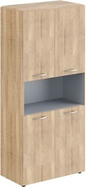 Skyland Office Cabinet With Lock DHC 85.4 Sonoma Oak 892х470х1950
