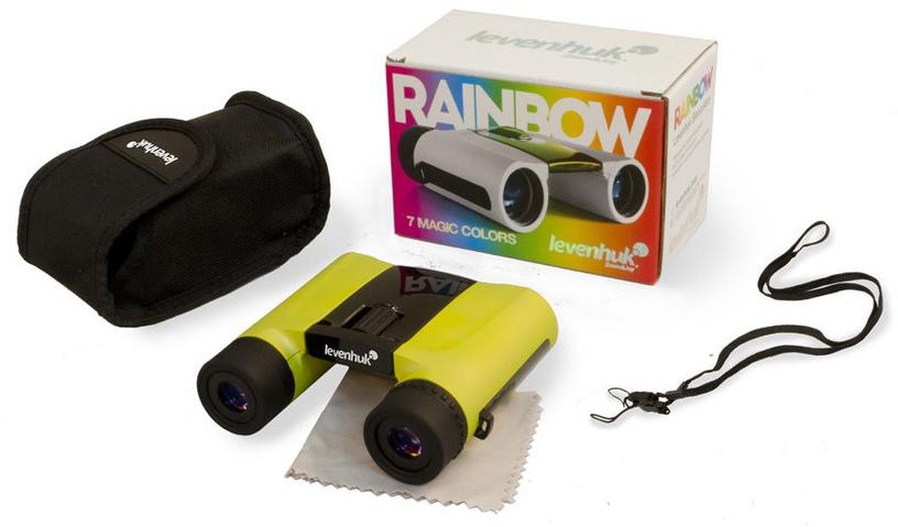 Levenhuk Rainbow 8x25 Lemon Binoculars