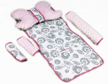 Комплект Babylove 95222, розовый/серый