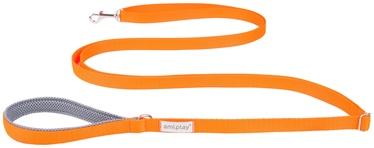Поводок Amiplay Samba, oранжевый, 3 м