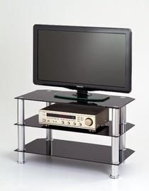 Televizoriaus staliukas RTV-21 juodas, 80 x 40 x 50 cm