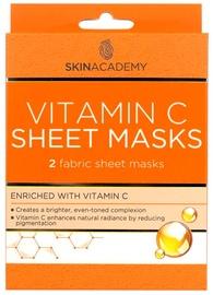 Skin Academy Vitamin C Sheet Mask 2pcs