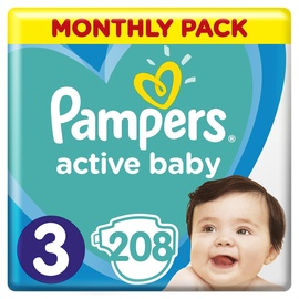 Pampers Active Baby S3 208