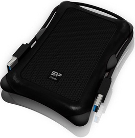 Жесткий диск Silicon Power Armor A30, HDD, 2 TB, черный
