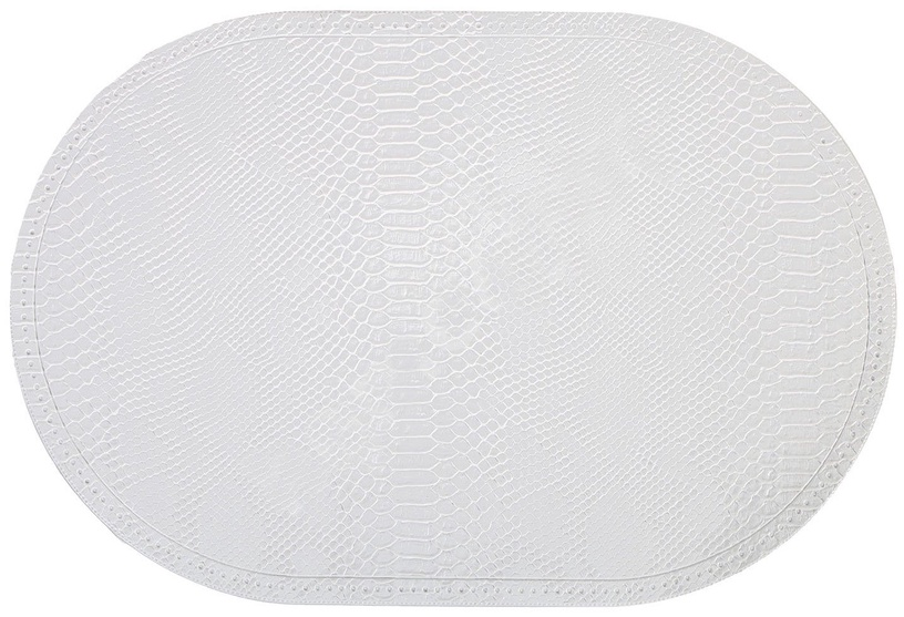 Home4you Placemat Boa 30x45cm White Snake Skin