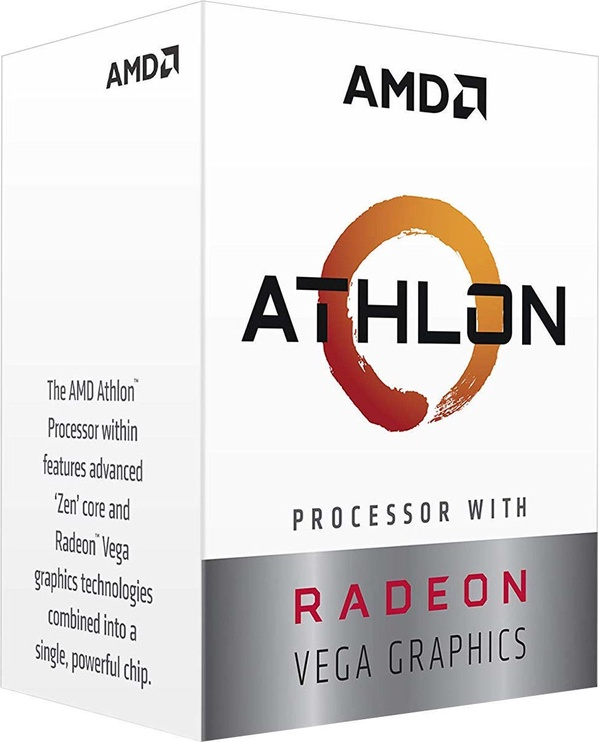 AMD Athlon™ 220GE 3.4GHz 4MB BOX YD220GC6FBBOX