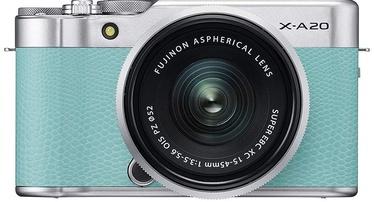 Fujifilm X-A20 + Fujinon XC 15-45mm F3.5-5.6 OIS PZ Mint Green