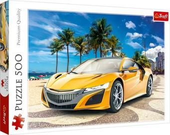 Trefl Puzzle Summer Trip Sport Car 500pcs 37381