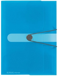 Herlitz Wallet Folder Easy Orga A4 Transparent Blue 11206414