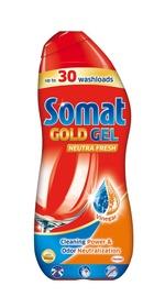 Жидкость для посудомоечной машины Somat Gold Neutra Fresh Gel, 600 мл