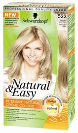 Matu krāsa Schwarzkopf Natural & Easy 522 Silver Light Blond