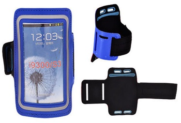 Telone Universal 8-15 Armband Pouch Case For Fitness Blue