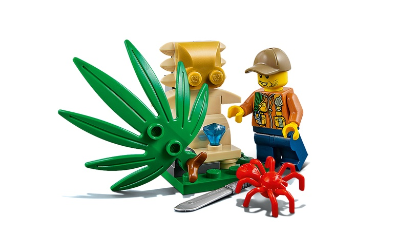 Konstruktor LEGO City, Džunglibagi 60156