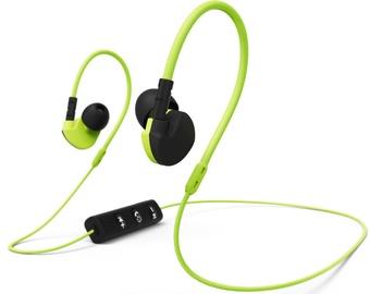 Belaidės ausinės Hama Active BT Black/Yellow