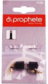 Prophete Tube Valves Set Black 2pcs
