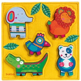 Djeco Wooden Puzzle Jungle DJ01041