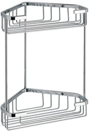 Gedy Wire Corner Double Shower Shelf 2481-13