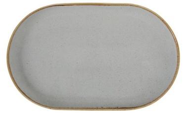 Porland Seasons Oval Plate 20x32cm Grey
